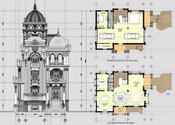 Mẫu bản vẽ kiến trúc nhà ở